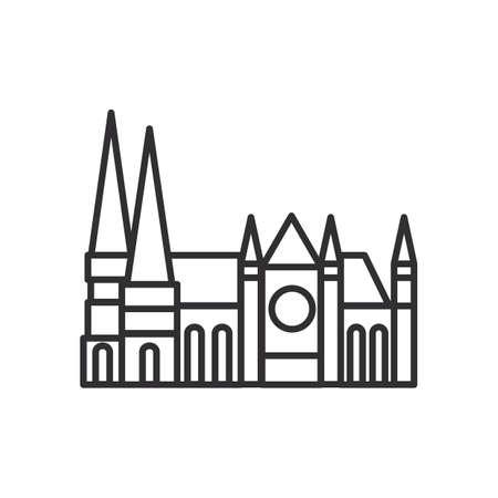 chartres cathedral Reklamní fotografie - 81485444