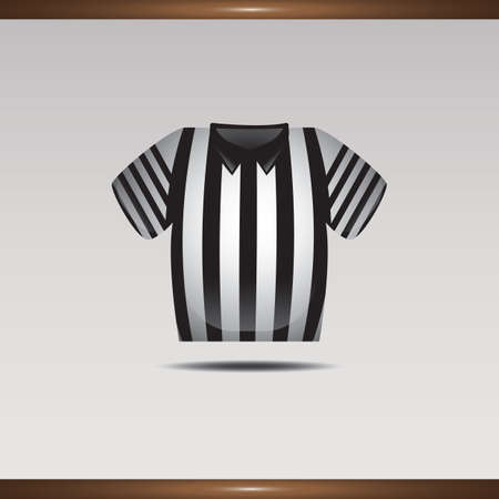 referee shirt Illustration