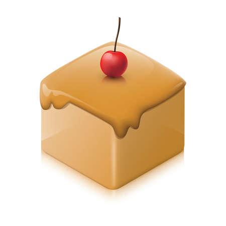 甘い食べ物  イラスト・ベクター素材