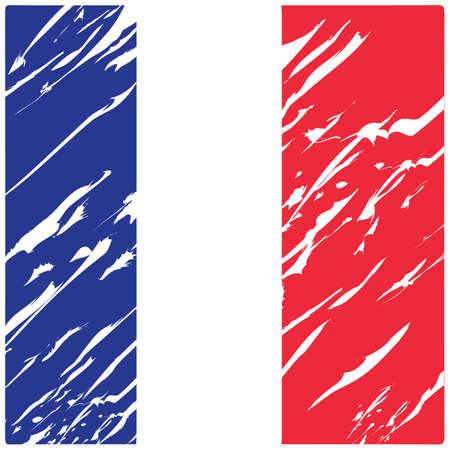 Fondo abstracto de la bandera de Francia Foto de archivo - 81485458