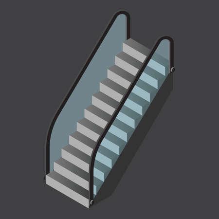 escalator Illustration
