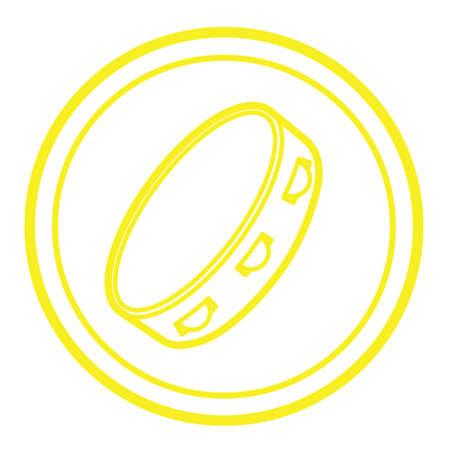 pandero: pandereta
