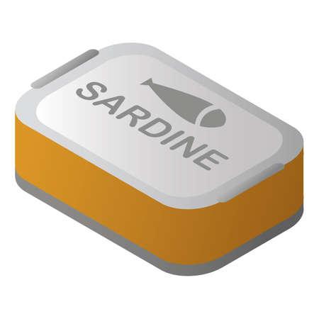 sardine tin Illusztráció