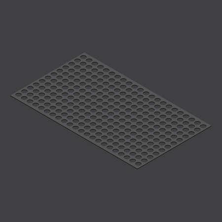 ゴム製マット  イラスト・ベクター素材