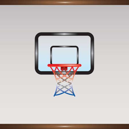 バスケット ボールのフープ