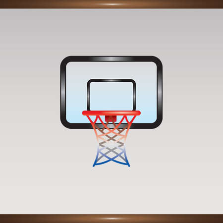 basketball hoop Illustration