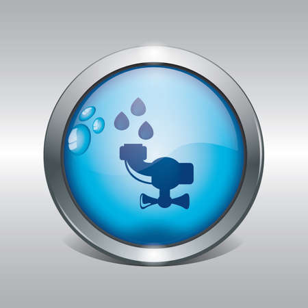 water conservation concept Illustration