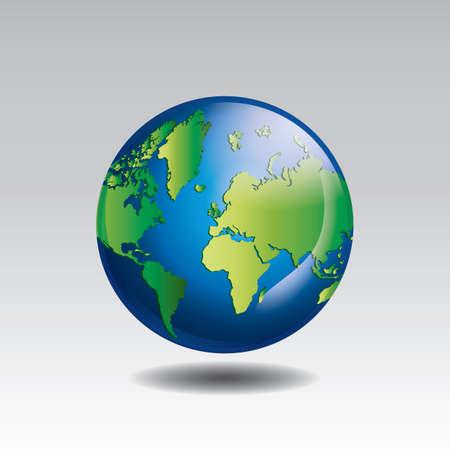 地球概念を保存します。  イラスト・ベクター素材