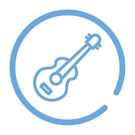 acoustic guitar Ilustração