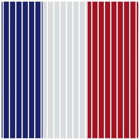 フランス国旗直線バック グラウンド