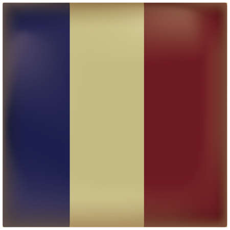 france flag vintage background