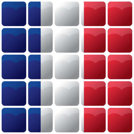 checkered france flag background