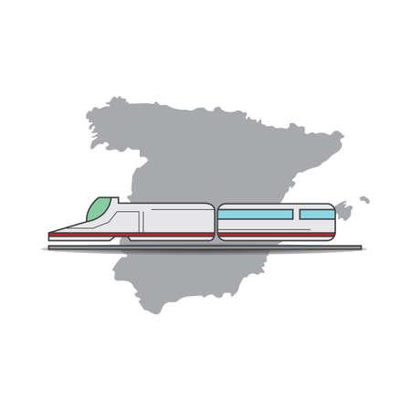high speed rail 写真素材 - 106669953