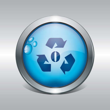 recycle symbol icon Illustration