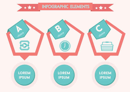 the template: infographic design template