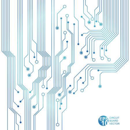 circuitboard: blue circuit board