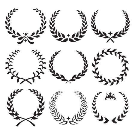 laurel leaf: laurel wreath collection