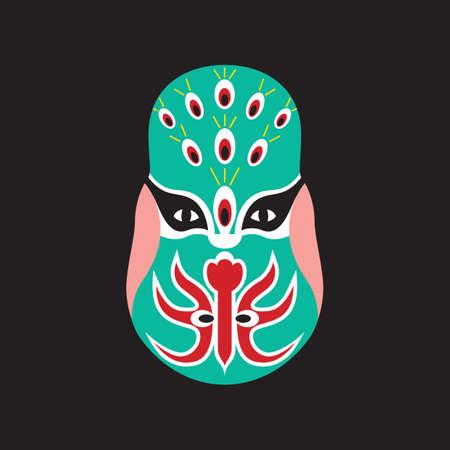 opera: chinese opera mask