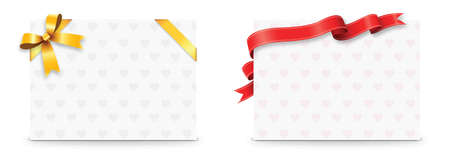 card: card with ribbon bow