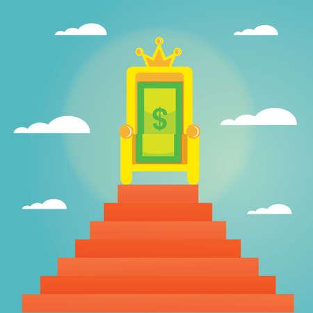 money: money throne
