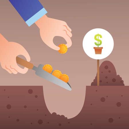 siembra: la siembra de dinero