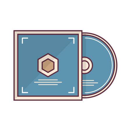 paper case: cd in cover