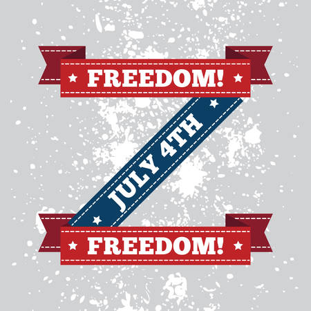 4th july: 4th july freedom banner