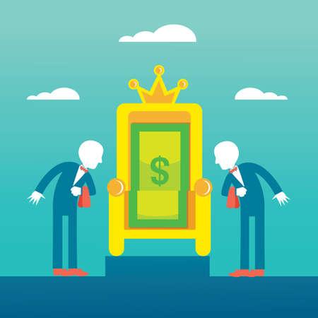 money throne
