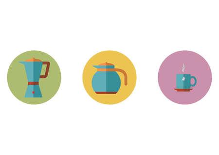 coffee blender: coffee icons