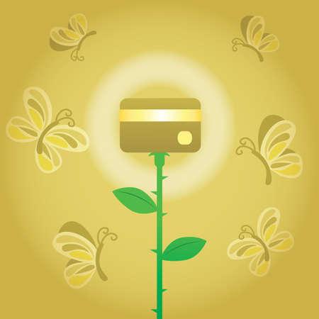 card: atm card plant