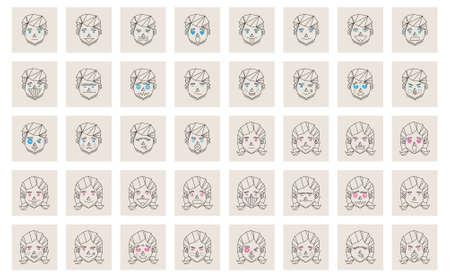desprecio: conjunto de iconos gestuales humanos Vectores