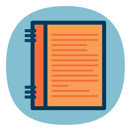notebook: office notebook Illustration