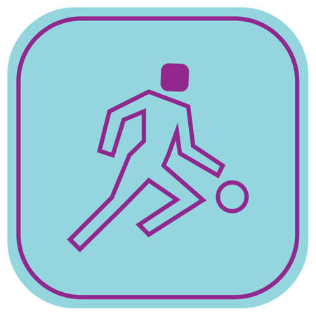 basket ball: basket ball player in form Illustration