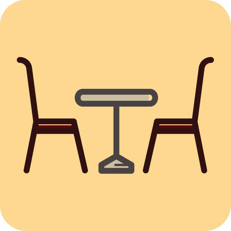 eatery: dining table and chairs