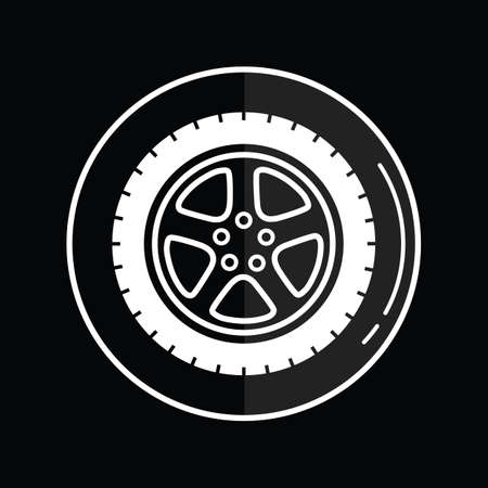 winter tire: winter tire icon