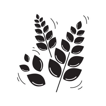malt: wheat Illustration