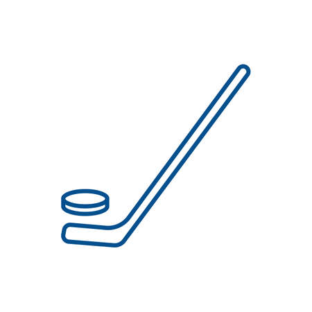 puck: ice hockey stick with puck