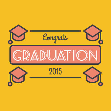 congrats: congrats graduation 2015 poster