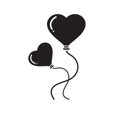 heart shaped: heart shaped balloons