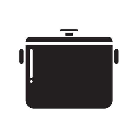 stew pan: cooking pot Illustration