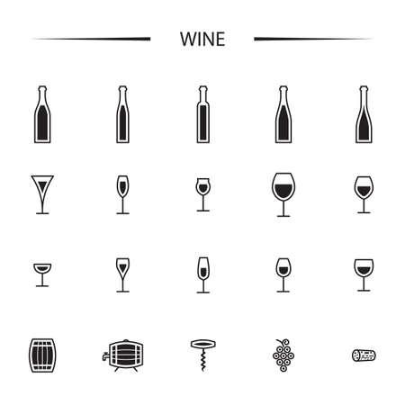 와인 아이콘 설정