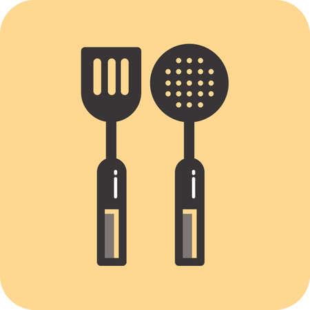 skimmer: spatula and skimmer
