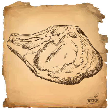 corte de carne de solomillo
