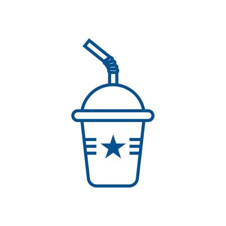 takeaway: soda in takeaway cup