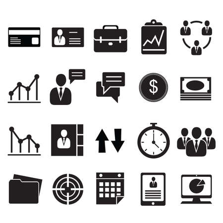 speech icon: business icons Illustration