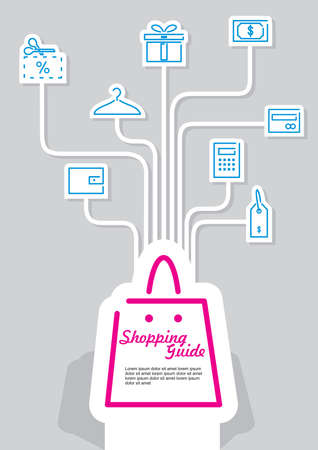 valet: shopping guide infographic