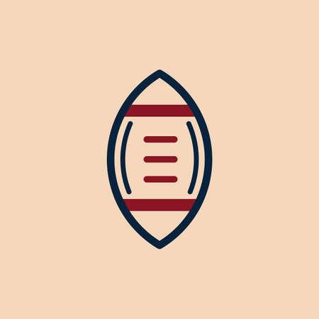 pigskin: american football ball