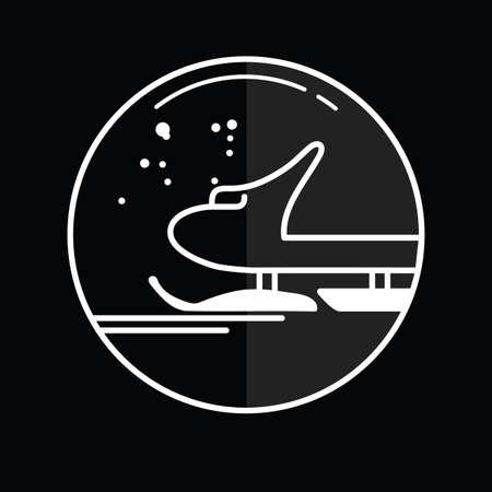 the icon: sledge icon
