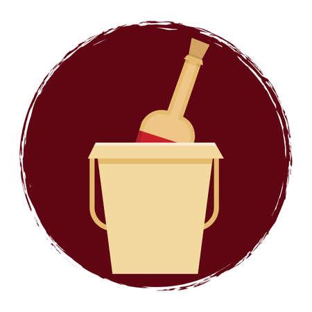 bucket: champagne bucket