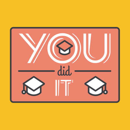 did: you did it poster